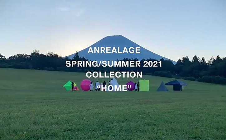 ANREALAGE 2021SS